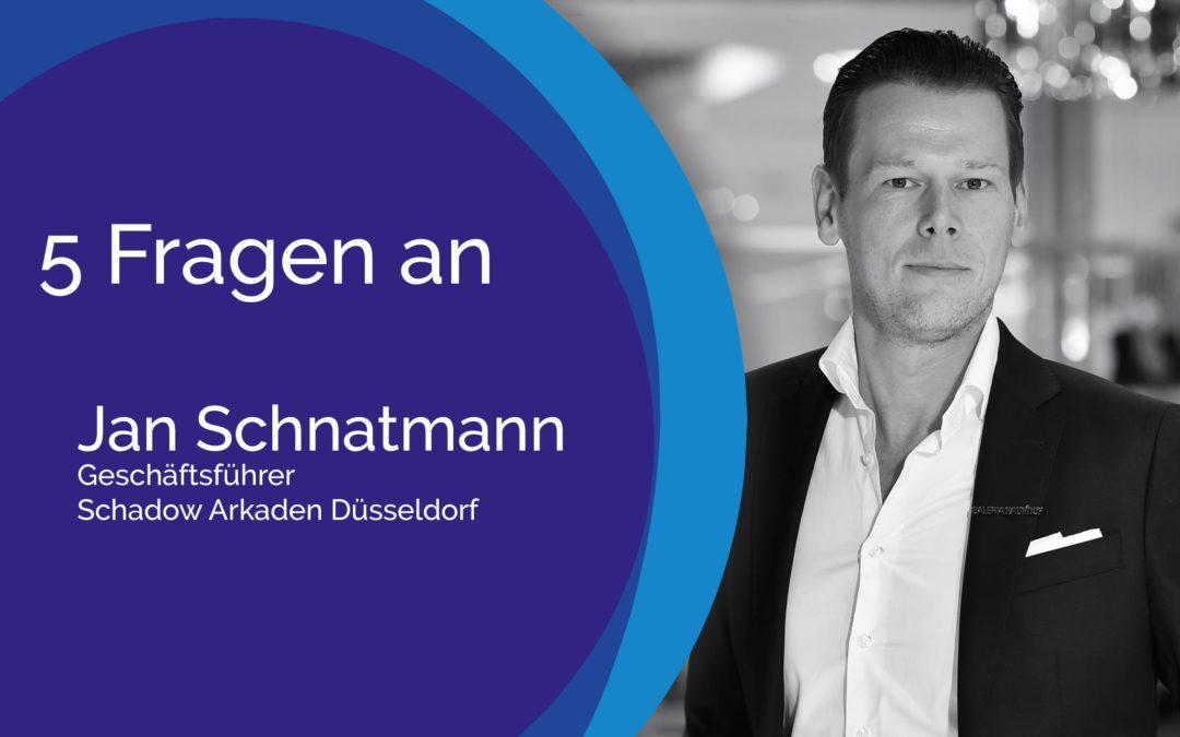 5 Fragen an Jan Schnatmann