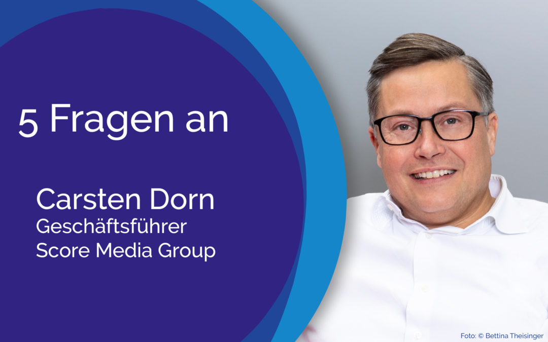 5 Fragen an Carsten Dorn