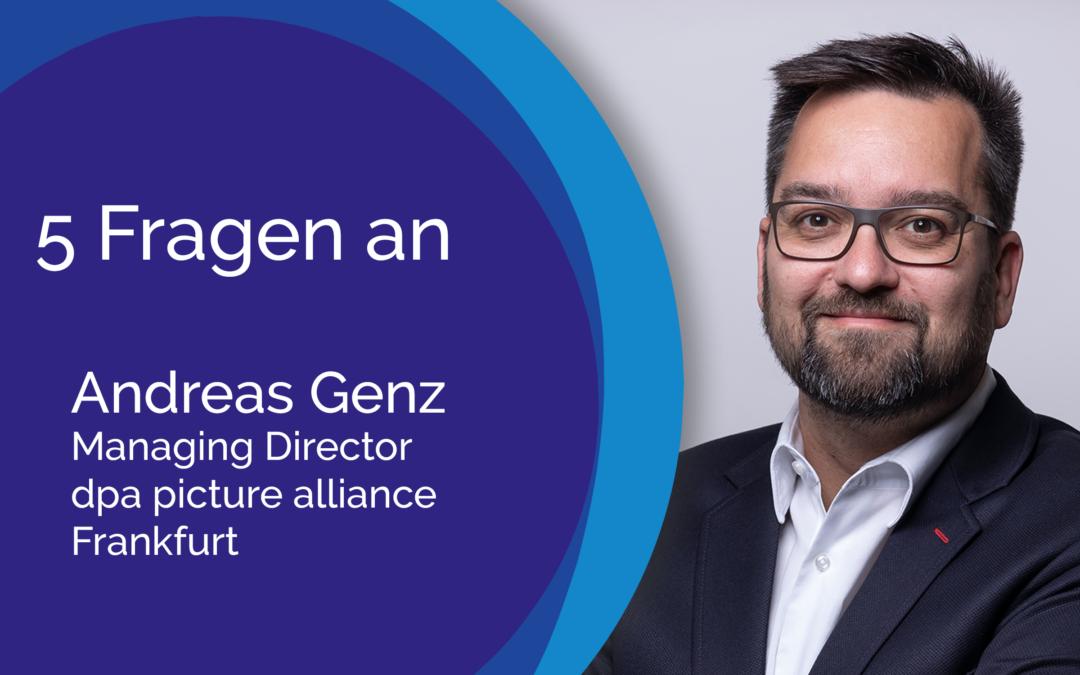 5 Fragen an Andreas Genz