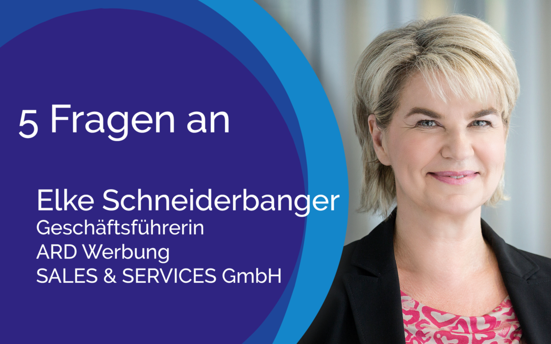 5 Fragen an Elke Schneiderbanger