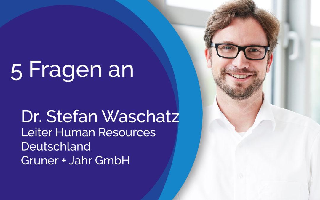5 Fragen an Stefan Waschatz