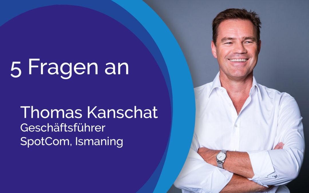 5 Fragen an Thomas Kanschat