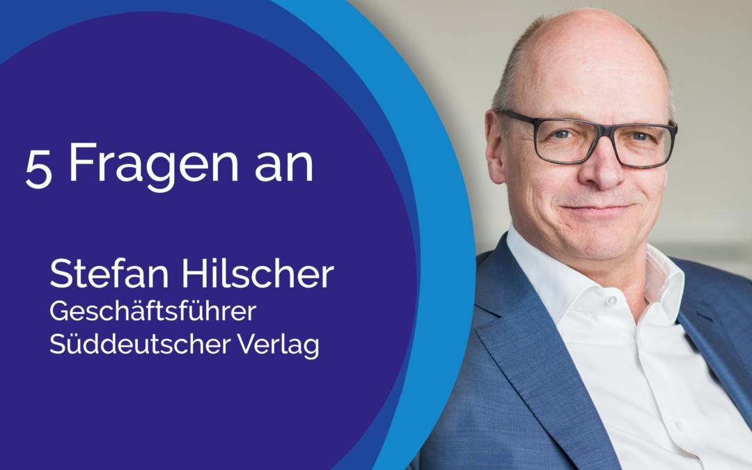 5 Fragen an Stefan Hilscher